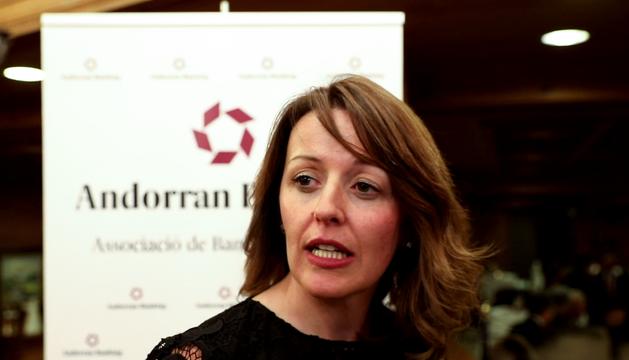La directora general de l'Associació de Bancs Andorrans, Esther Puigcercós