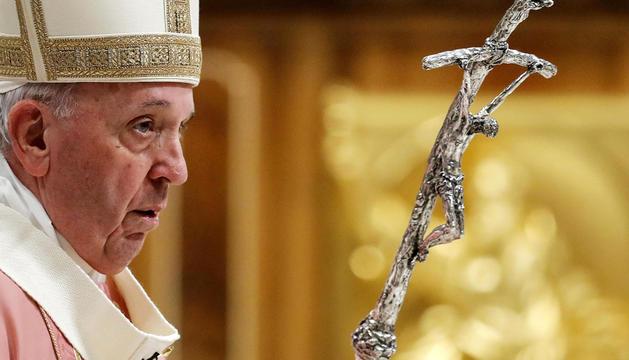El Papa Francesc, en una imatge d'arxiu.