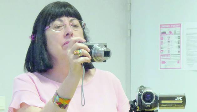 La presidenta de la Societat Andorrana de Ciències, Àngels Mach