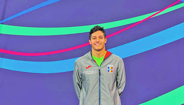El nedador de 18 anys Tomàs Lomero