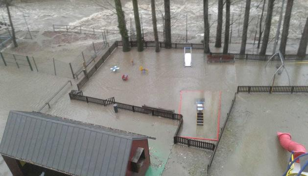 Un parc inundat