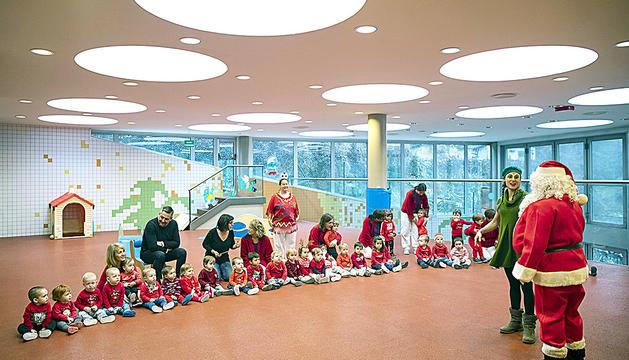 El Pare Noel va visitar les escoles bressol de la capital