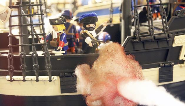 Els diorames de Playmobil, al CAEE