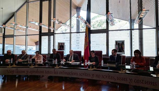 Sessió de Consell de Comú Extraordinari de Canillo