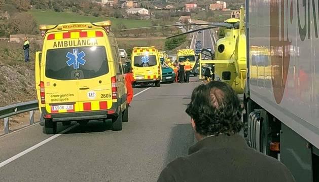 L'accident a Coll de Nargó