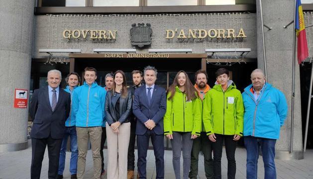 Riva es reuneix amb els representants dels Youth Olympic Games 2020