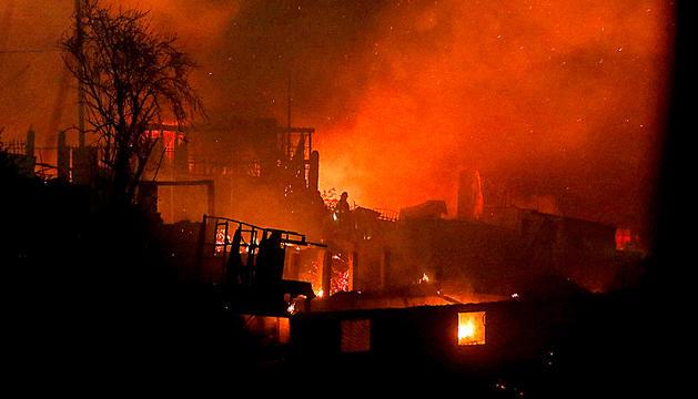 Incendi de Valparaíso.
