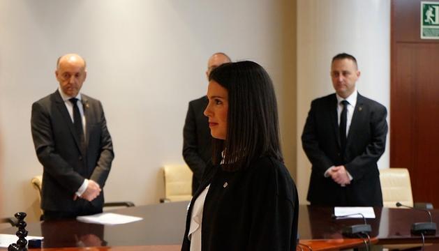Laura Mas s'ha convertit avui en la primera cònsol major d'Encamp