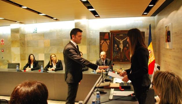 Josep Àngel Mortés ha jurat per segona vegada com a cònsol ordinenc