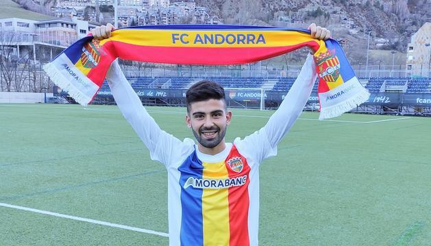 Adri Lledó ha fitxat per l'FC Andorra
