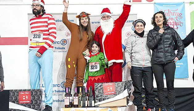 Els guanyadors de la cursa