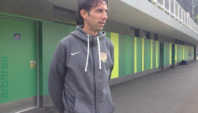 Jaume Nogués és el director tècnic de l'FC Andorra