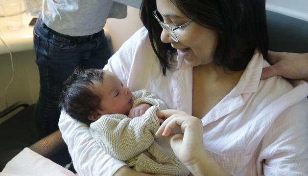 Anna Casal Machado, el primer nadó del 2020