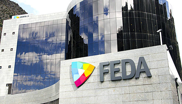 Edifici de la seu central de Forces Elèctriques d'Andorra (FEDA).