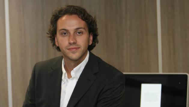 Jordi Segarra en una imatge d'arxiu quan treballava a Andorra