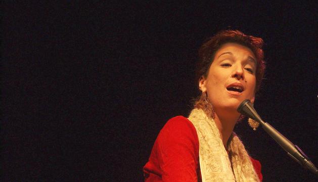 La cantant lusitana, al concert que va oferir a Escaldes el 2005.