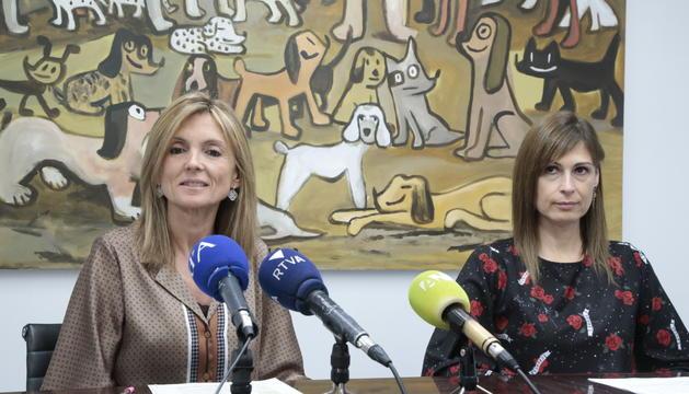 La directora de Bomosa, Carmen Rivera, presenta amb Mònica Lage la nova Associació de Malalties Minoritàries d'Andorra (A.M.M.A)