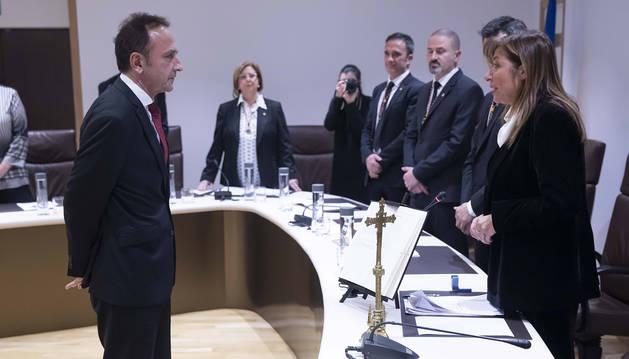 Grau i Marsol durant el nomenament de la Junta de Govern