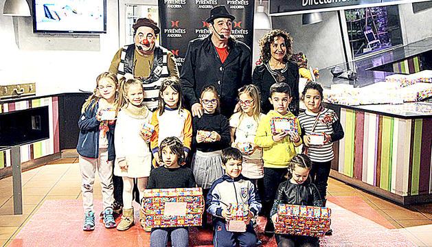 Els nens guardonats a la 27a edició del Gran concurs de dibuix