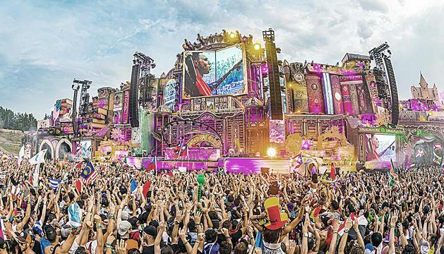 El festival de música dance Tomorrowland és celebra del 17 al 26 de juliol a Bèlgica