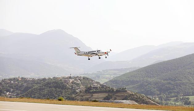 L'aeroport va acollir nous vols de validació al setembre