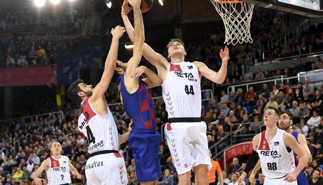 El Bilbao Basket ha acabat guanyant al Palau Blaugrana (92-94)