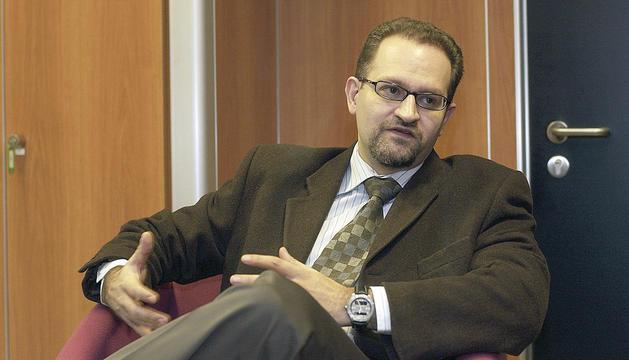 El candidat a degà, Xavier Sopena.