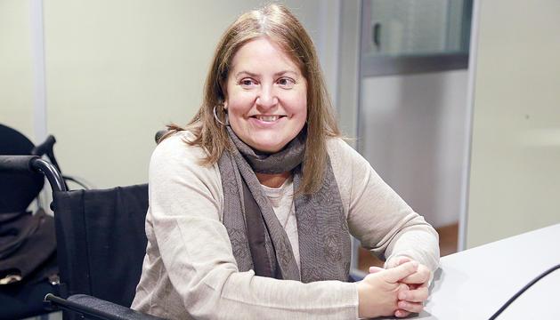 Agustina Grandvallet, presidenta de l'associació AMIDA.