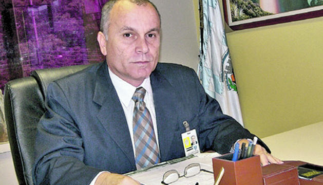 L'excap de la divisió de drogues de la policia de Veneçuela Norman Puerta.