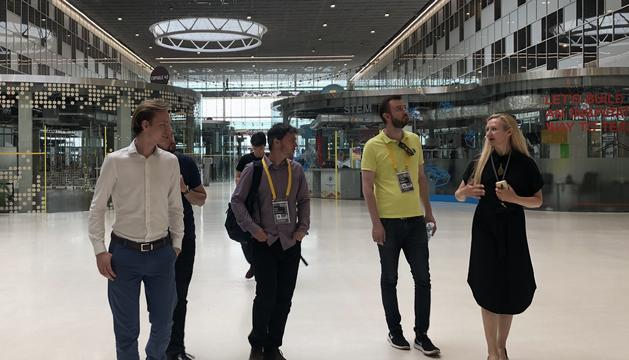 El director d'Actua, Marc Pons, ha explicat que l'acció ajuda al desenvolupament de la innovació de les empreses d'Andorra