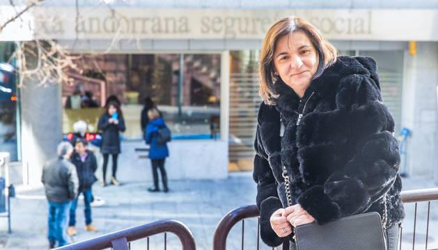 Trini Marín s'ha reincorporat al lloc d'administrativa de la CASS