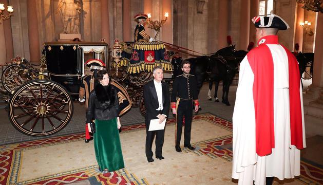 Cerimònia del segle xviii per lliurar al rei les credencials