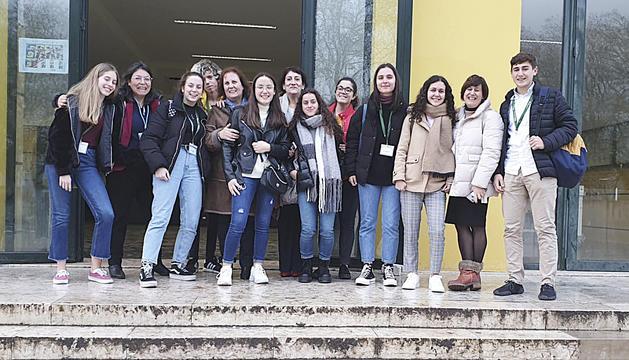 Els alumnes de segona ensenyança de l'Escola Andorrana de Santa Coloma van viatjar a Portugal
