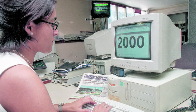El canvi de data als ordinadors produïa alternacions informàtiques
