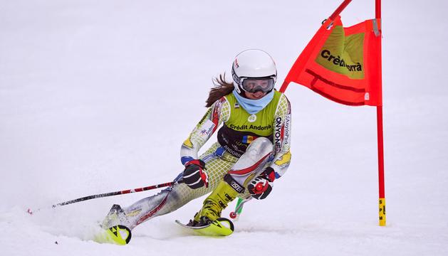 Carla Mijares, en una cursa anterior.