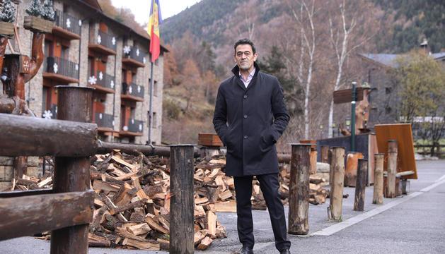Imatge del cònsol major, Josep Àngel Mortés.