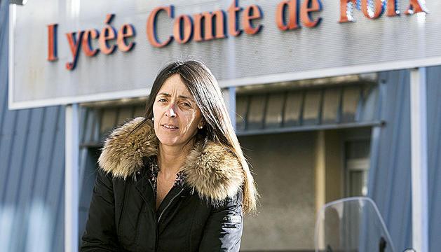 Gemma Riba ha tornat a ocupar la plaça de professora de francès del Lycée