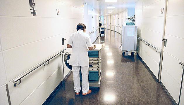 El torn de nit de l'hospital compta amb un comandament d'infermeria