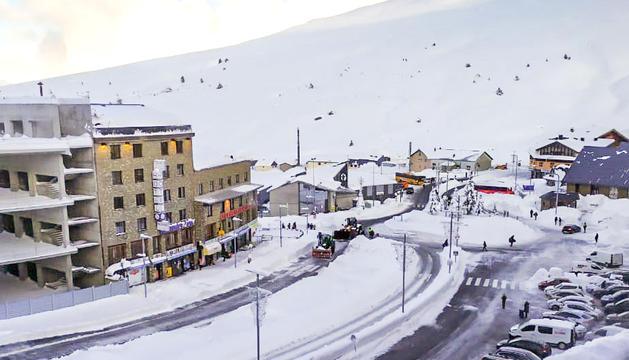 El Pas de la Casa és una de les zones del país que més neu han acumulat.