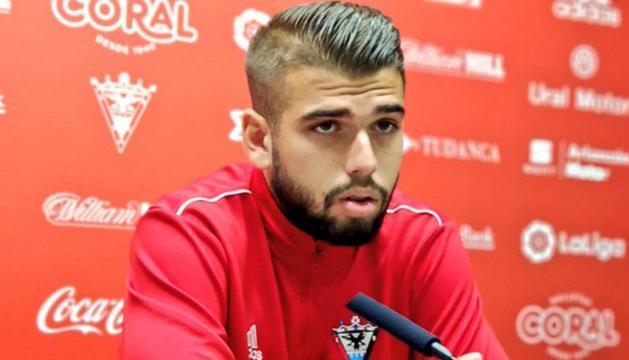 El nou jugador de l'FC Andorra, Andrés Garcia