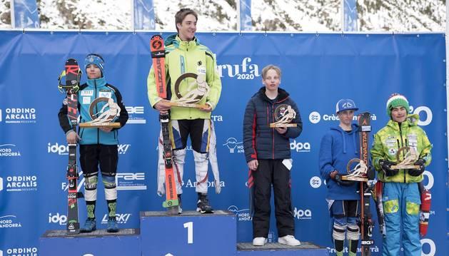 Salvador Cornella s'emporta l'or a l'Alpina Combinada