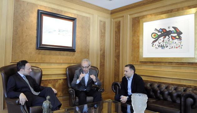 Camp i Casal van parlar amb Espot dimarts sobre els apartaments turístics