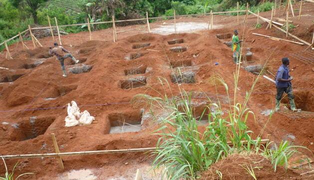 Construcció d'un centre de salut a Camerún