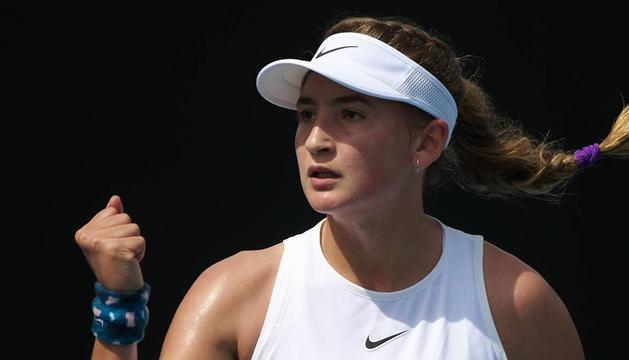 Vicky JimVicky Jiménez ja és semifinalista de l'Open d'Austràlia júniorénez ja és semifinalista de l'Open d'Austràlia júnior