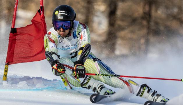 L'esquiador alpí Joan verdú