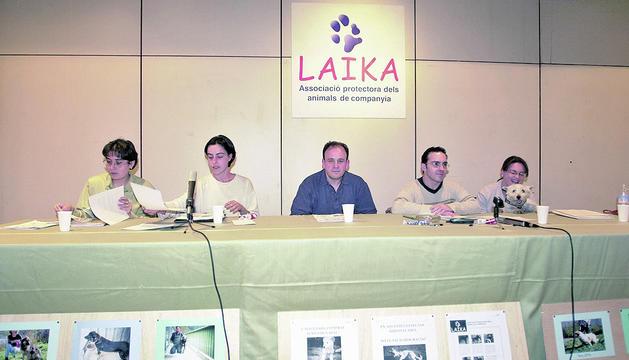 Assemblea de Laika el 9 de maig del 2000.