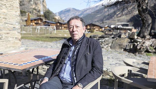 """Josep Miquel Vila es mostra """"content"""" del mandat que ha fet com a cònsol lauredià."""
