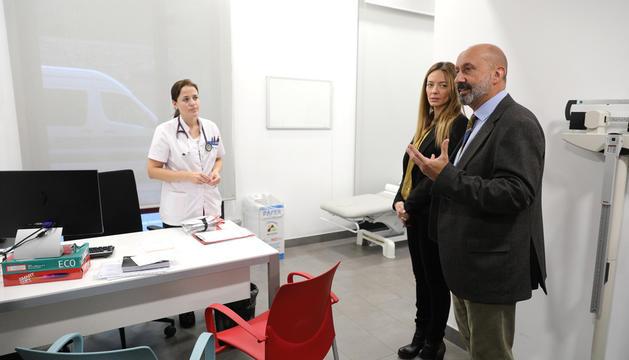 El ministre de Salut visitant les instal·lacions d'El Cedre, el novembre passat.