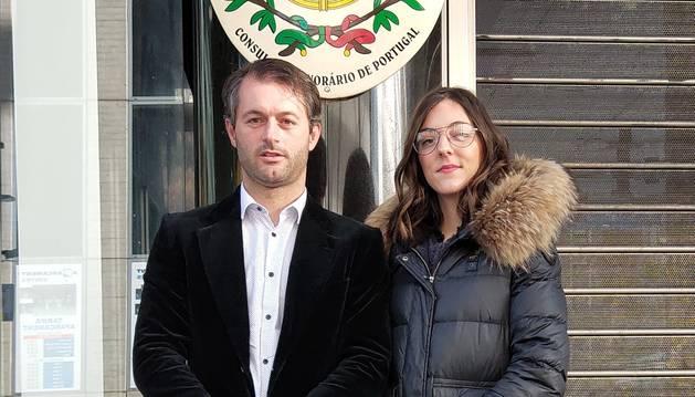 Els candidats, José Manuel da Costa i Ana Ribeiro