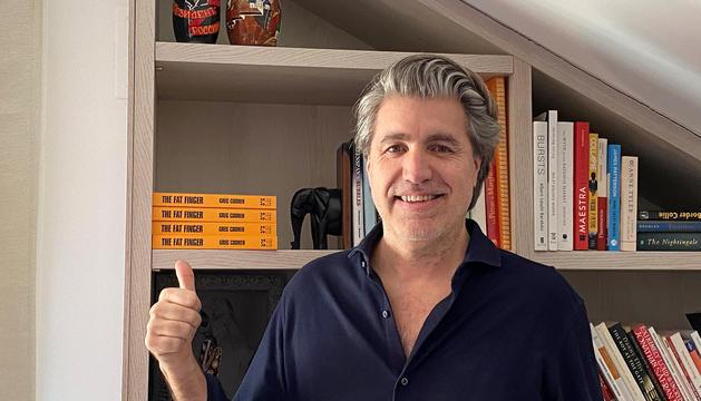 Gregory Coonen, establert a la Massana des de fa una dècada.